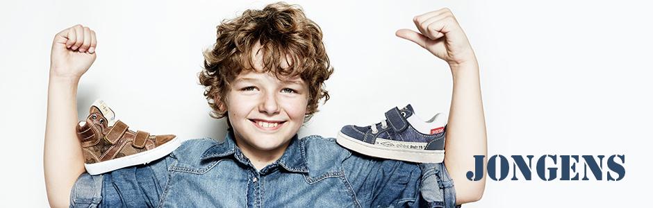 Stoere jongensschoenen bij Borreman Schoenmode